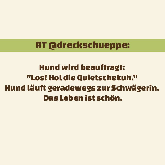 Tweet der Woche :D #hunde #twitter #dogsplaces