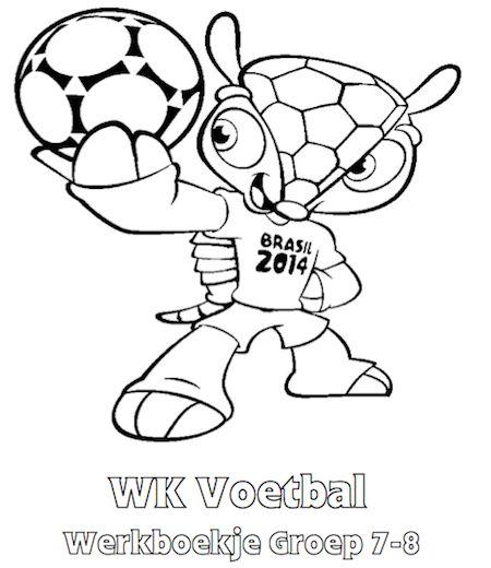 WK Voetbal Werkboekje Groep 7-8