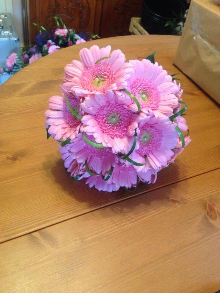 Kimsey germini bridal bouquet