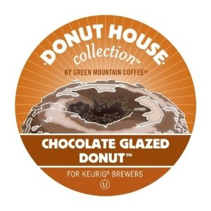 Green Mountain Coffee Roasters Donut House Coffee,Regular - Chocolate Glazed Donut - Light/Mild - K- (Office Product)