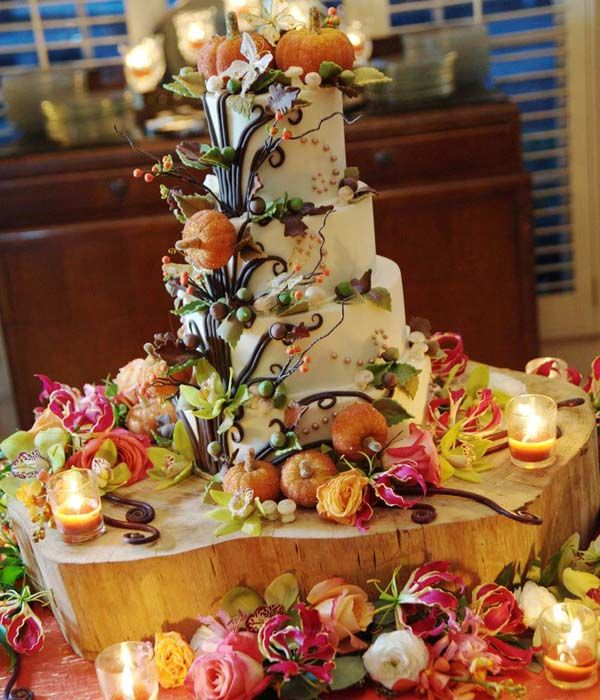 Fall Wedding Cakes Ideas: 79 Best Fall Wedding Cakes Images On Pinterest