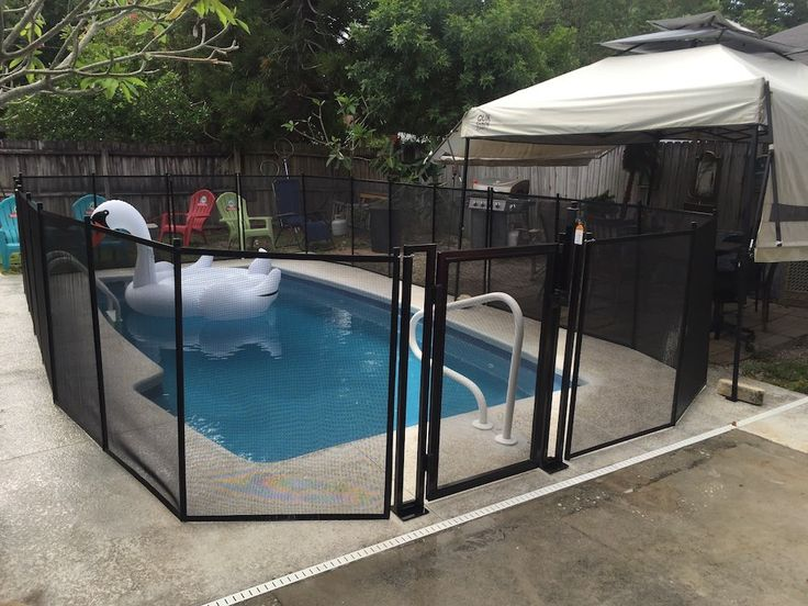 safety pool fence. Big Or Small - Regardless Of Your Swimming Pool Size, You Should Always Protect Children Using Adult Supervision And Safety Fence. Fence