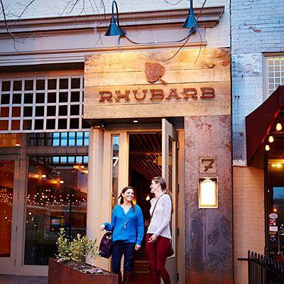 Rhubarb Restaurant Asheville North Carolina- [site:name] - Best Southern Restaurants- Southern Living