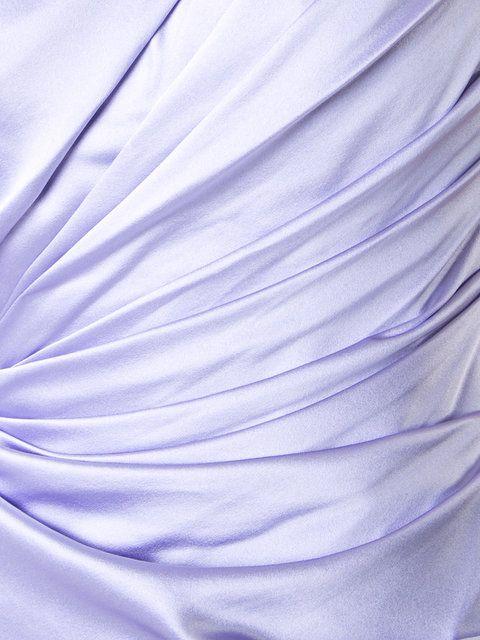 Купить Romona Keveza вечернее платье на одно плечо.