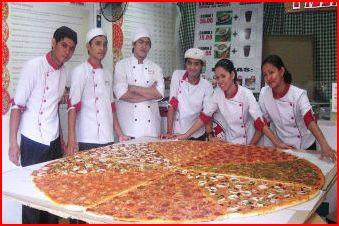 30-70 inches pizza!