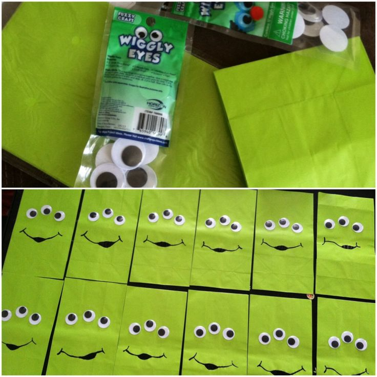 DIY: easy toy story theme bags!!!