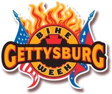 2012 Gettysburg Bike Week in Gettysburg Pennsylvania