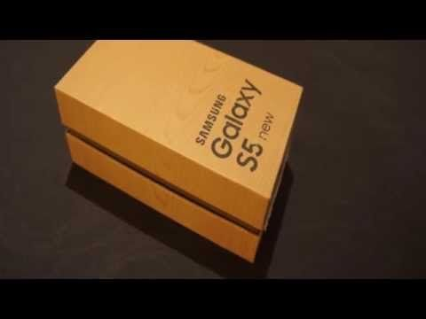 Unboxing Samsung Galaxy S5 Neo/New