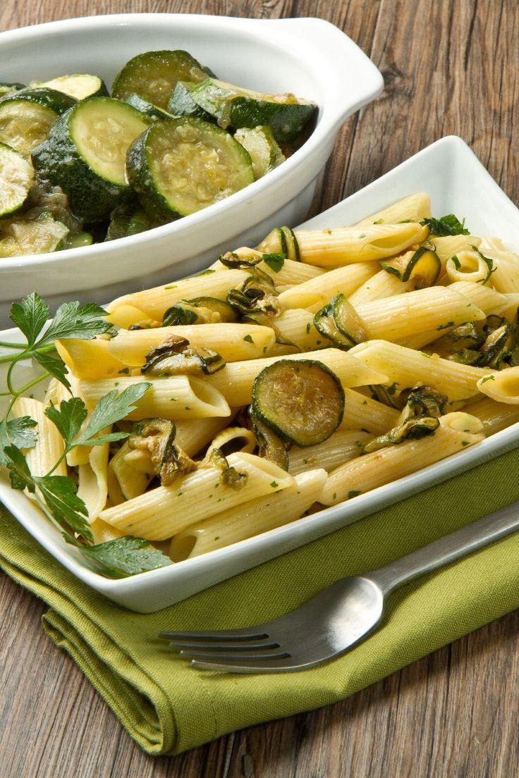 Beautiful Zucchini Carbonara