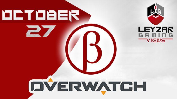 Overwatch - Beta Launch Date: October 27 (U.S. Only)
