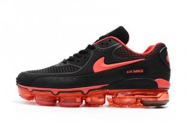 buy popular 4d99e 02531 Off White X Nike Air Max 90 Black Red www.kindsneaker.com