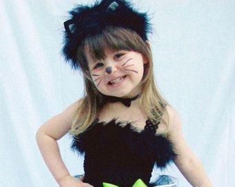 Traje del tutú del gato negro para las muchachas por DanburyLane