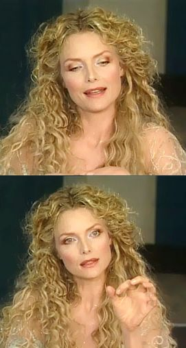 Michelle Pfeiffer in the movie W.Shakespeare's A Midsummer Night's Dream.