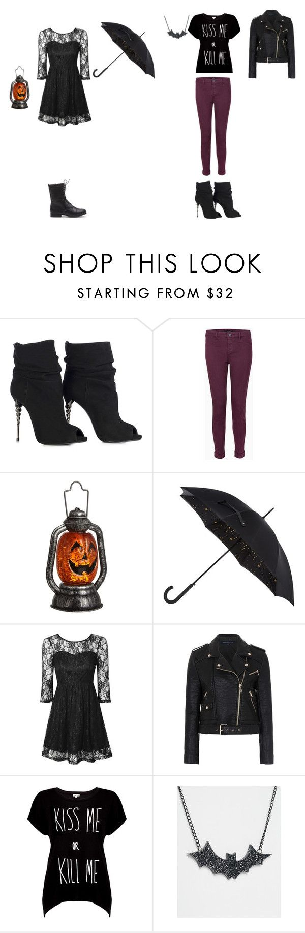 """Jacky And Violet Sinister (The Sinister Sisters)"" by phoenix1053 ❤ liked on Polyvore featuring J Brand, John Lewis, Fulton, True Decadence, French Connection, Rotten Roach, Suzywan DELUXE, women's clothing, women's fashion and women"