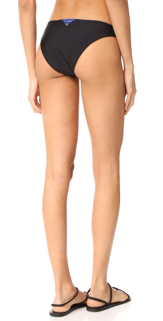 Basta Surf Popoyo Reversible Ribbon Retro Bikini Bottoms | SHOPBOP