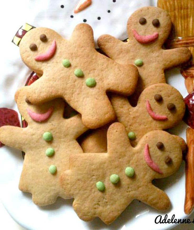 Gingerman Cookies! Adelenne is sharing her super recipe for these wonderful cookies. Now these aren't your regular gingerman cookies! For the decorating, Adelenne has used cookie dough to make the eyes, buttons and mouth instead of using sugar. This makes for a little less sweet cookie and yep, her little one absolutely loves them! So let's get baking. Recipe by Adelenne Lee Prep Time: 15 minutes Cook Time: Approx 10 - 12 minutes Yield: 12 - 24, depends on the size of your cookie cu...