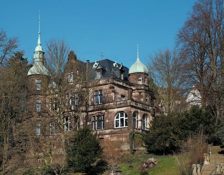 Ideal Villa B nhoff Alte Fabrikantenvilla in Wetter Ruhr