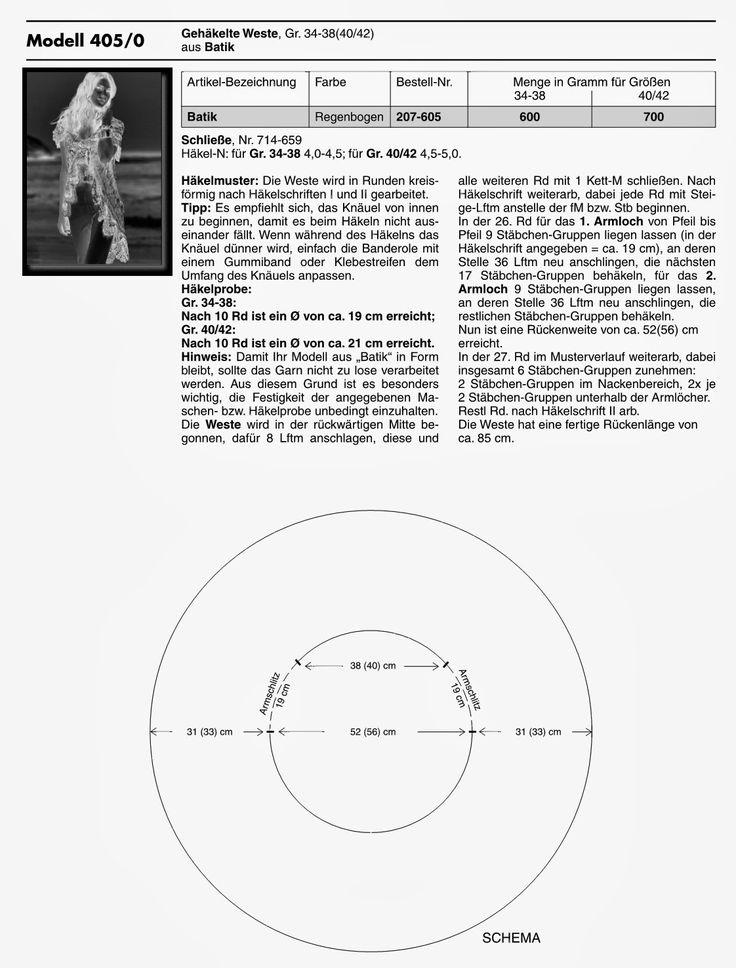 CARAMELO DE CROCHET: colete matizado