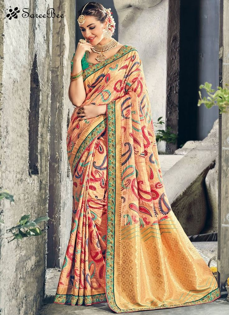 Adorable Weaving Work Art Silk Designer Traditional Saree  Enchant the mantra of being stylish in this attire. Keep ahead in fashion with this multi colour art silk designer traditional saree. The brilliant attire creates a dramatic canvas with amazing weaving work. Comes with matching blouse.