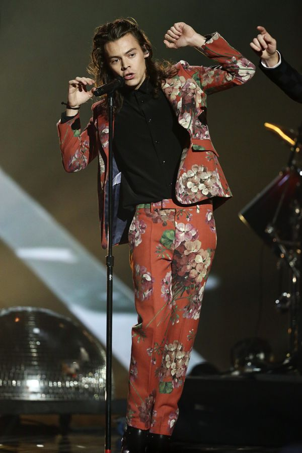 Harry Styles at the X Factor Final