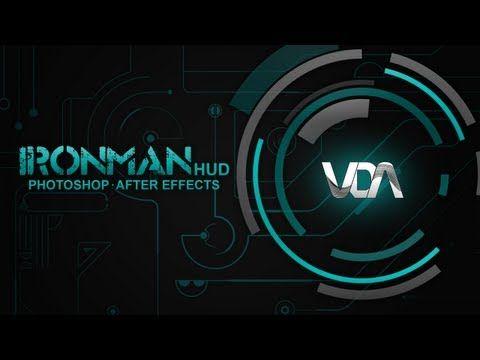 Ironman HUD Tutorial (Adobe After Effects CS6 & Adobe Photoshop CS6) - YouTube