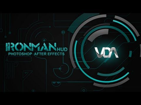 Ironman HUD Tutorial (Adobe After Effects CS6 & Adobe Photoshop CS6) - YouTube