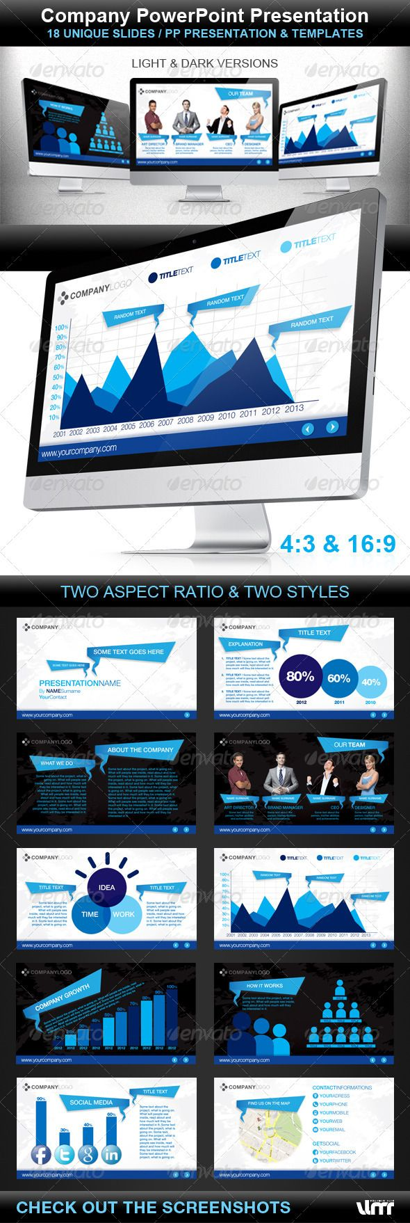 152 best powerpoint / keynote images on pinterest | presentation, Presentation templates