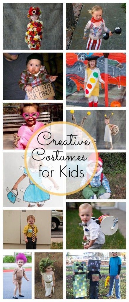 Creative Kids Costumes - these are AWESOME!
