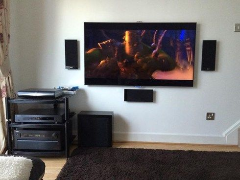 kef t105. here mine samsung es8000 led tv oppo 103 blu-ray player onkyo 818 kef t105 speakers apple tv | #whfsystems pinterest projector screens and t