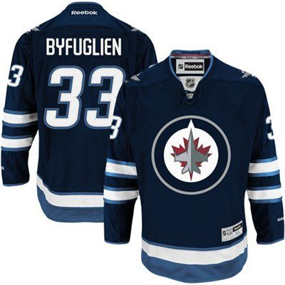 ... Reebok Dustin Byfuglien Winnipeg Jets Premier Jersey - Polar Night Blue  ILYA KOVALCHUK SIGNED ATLANTA ... 291831687