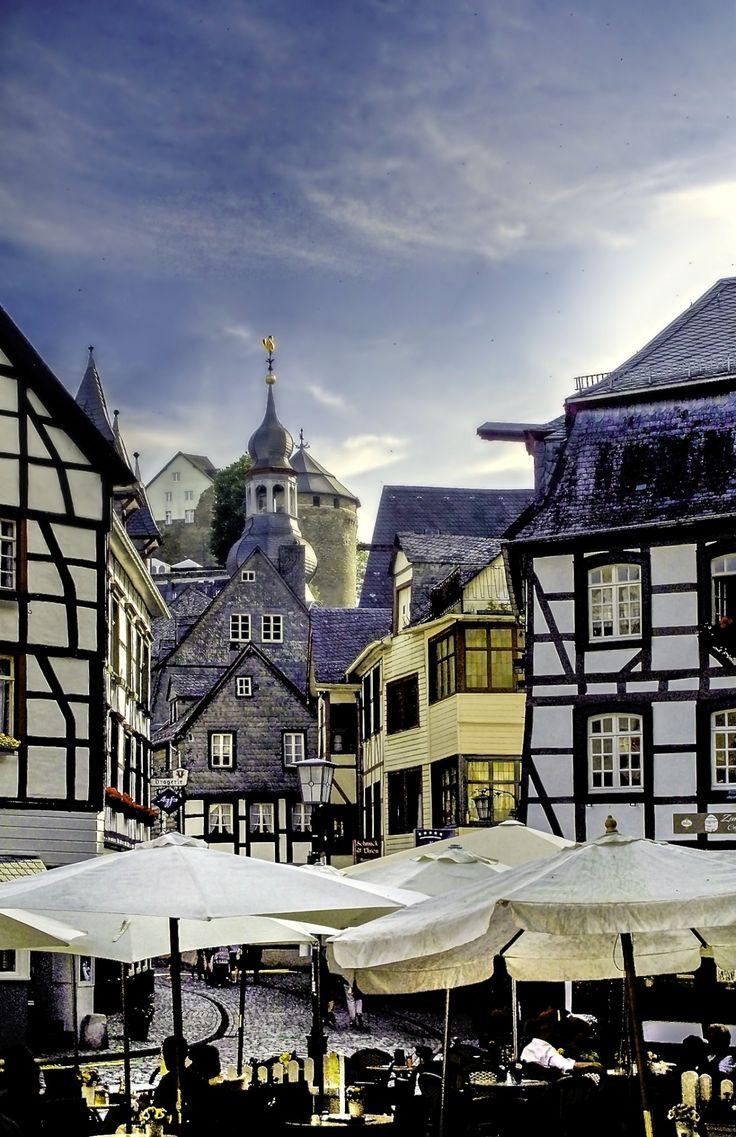 "allthingseurope: ""  Monschau, Germany (by Heinrich Pollmeier) """