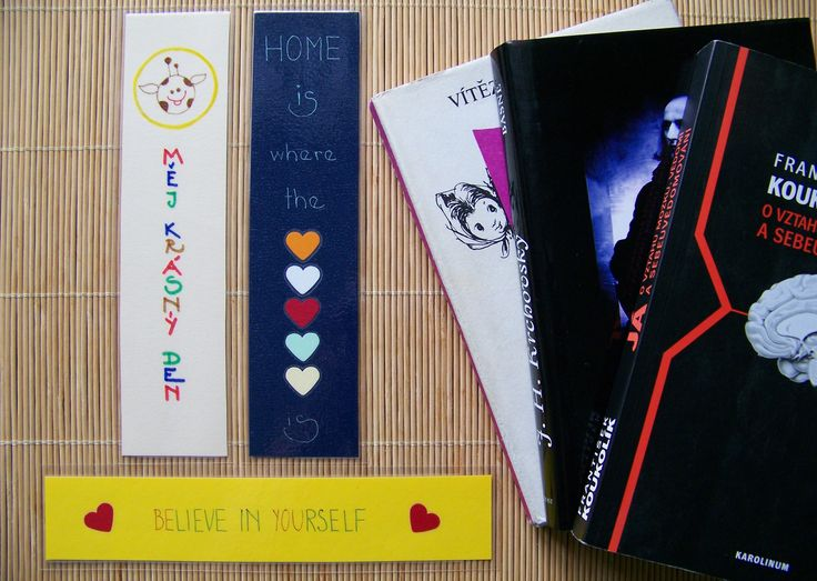 Handmade bookmarks by Lady Lu.