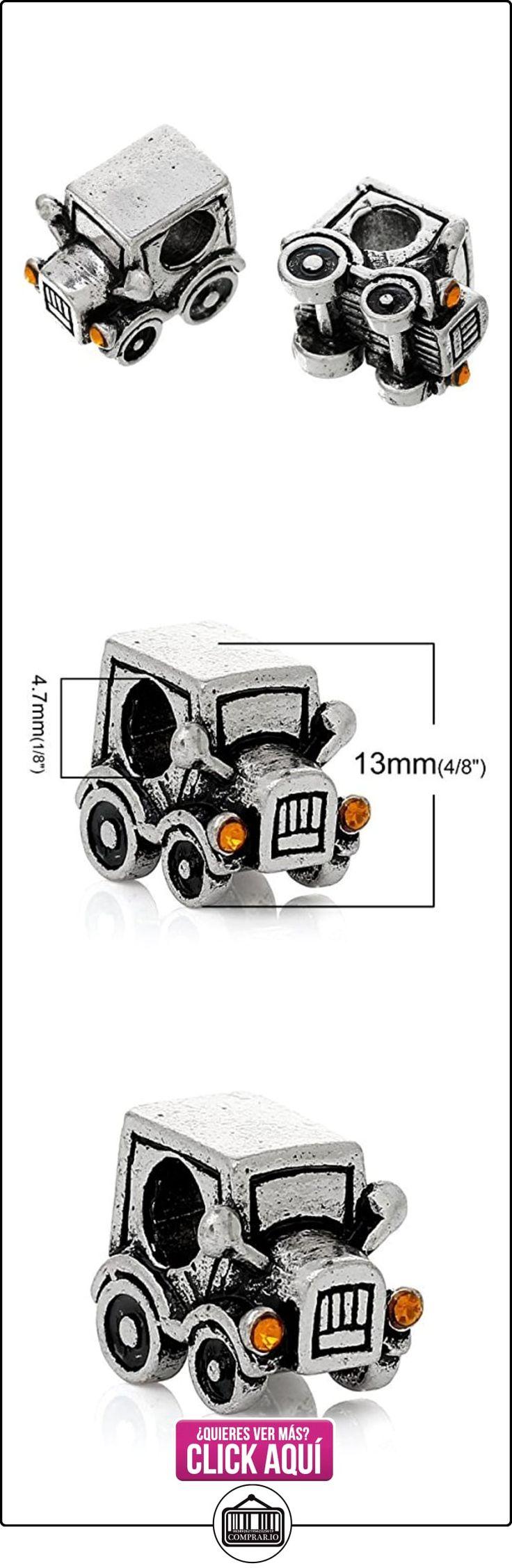 Sexy Sparkles Mujer Classic coche Espaciador de cuenta para pulsera compatible para la mayoría de cadena de serpiente Pulseras  ✿ Joyas para mujer - Las mejores ofertas ✿ ▬► Ver oferta: https://comprar.io/goto/B00N58JL7M