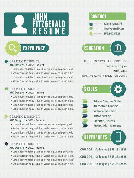 innovative resume