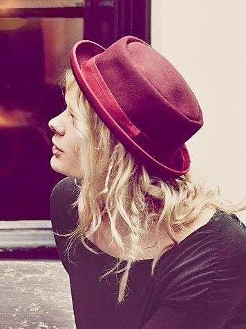 Free People Patton Porkpie Hat - as seen on Taylor Swift.