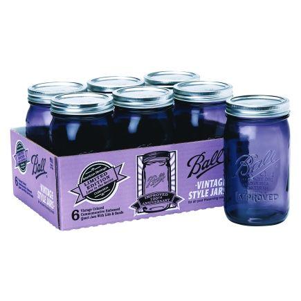 1qt Purple Ball Jars -6 Pack (1440069009) at Ace Hardware