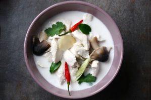 Суп Том Кха Кай рецепт с фото как приготовить тайский суп Том Кха - ПаттайяТайланд.ру 2016