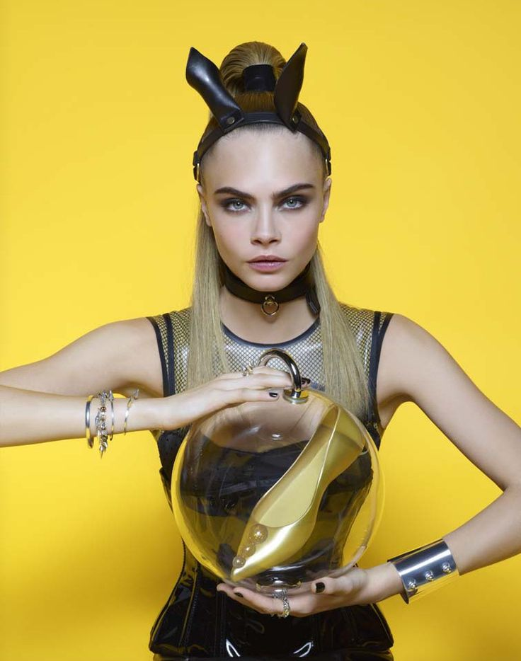 Cara Delevingne is A Shoe Vixen for Karl Lagerfeld In Melissa Magazine Winter…