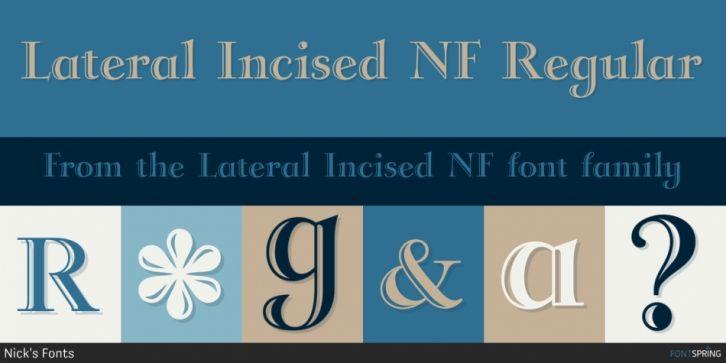 Incised 901 bt free font download.