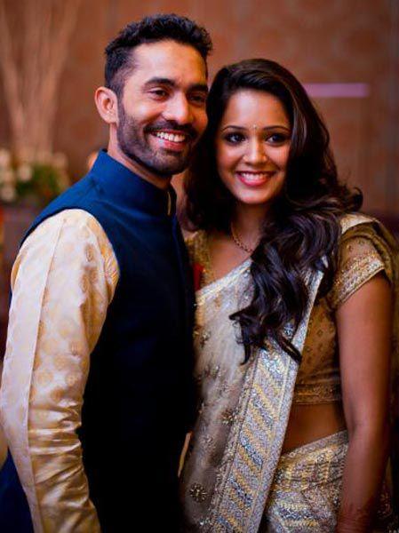 Dinesh Karthik & Dipika Pallikal