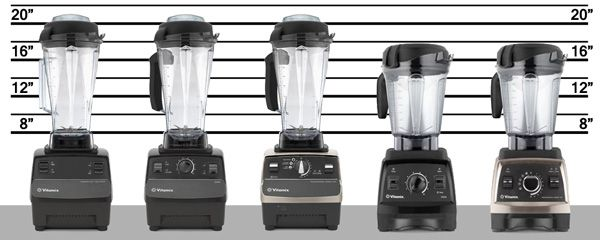 Vitamix machines lineup--best blog on comparing Vitamix options