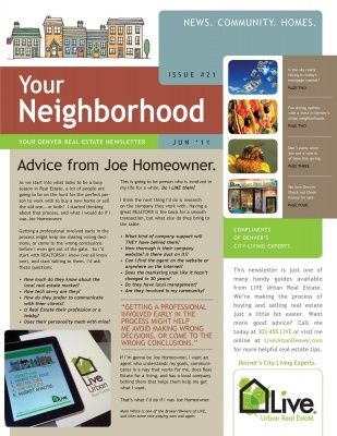 Neighborhood Newsletter Examples  Google Search  Templates
