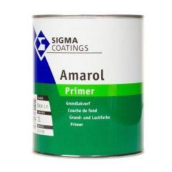 Sigma Amarol Primer is een vochtregulerende grond- en overgrondverf op basis van alkydhars. Hoge dekkracht, goede hechting en weervast.