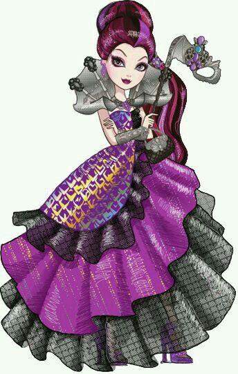 Baile de Máscaras Raven Queen
