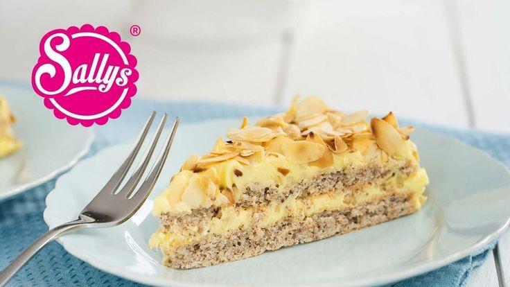 Almondy: Schwedische Mandeltorte - glutenfrei / nachgemacht: Original tr...