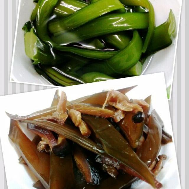 仕事の帰りに湊川市場へ寄ってお魚や野菜を買ってきたよ。 春が旬の茎ワカメを見つけた♪1kg入って200円>^_^< シメジと干し椎茸と一緒に佃煮にしました♪ ご飯のお供に♪ - 77件のもぐもぐ - 鳴門茎ワカメの佃煮♪ by MUNI3
