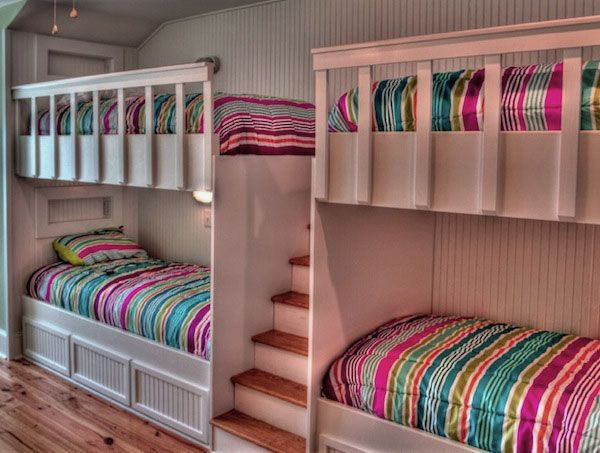 Beach house Bunk beds