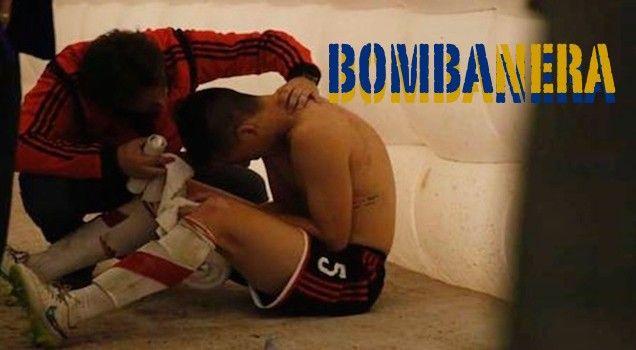 Vergogna Boca-River: giocatori ustionati dai tifosi!