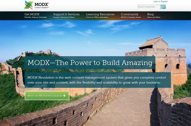 ModX By @Team Mango Media Private Limited Via http://www.themangomedia.com/blog/what-is-content-management-systemcms-and-advantages-of-using-cms/