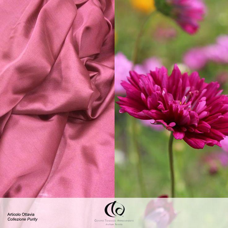 #Ottavia è un sinuoso ed elegante! Porterà nei vostri ambienti il tocco magico dei fiori primaverili appena sbocciati!  Tessuto Collezione #Purity, variante di colore 24.  Visita il nostro sito www.ctasrl.com e scarica le nostre brochure su: http://bit.ly/1nhrLQM #tessuti #interiordesign #tendaggi #textile #textiles #fabric #homedecor #homedesign #hometextile #decoration